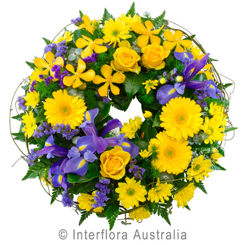 411-Cluster-Wreath