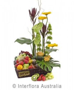 H179-Exotica-Lavish-Fruit-and-Flower-Basket