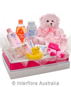 311-Teddy-Bear-with-a-Selection-of-Baby-Care-Goods