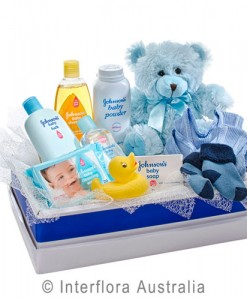 312-Teddy-Bear-with-a-Selection-of-Baby-Care-Goods